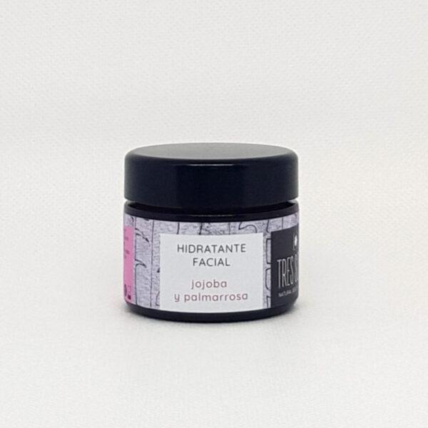 Hidratante Facial Jojoba Y Palmarosa | Tres Soles Alta Cosmética Natural